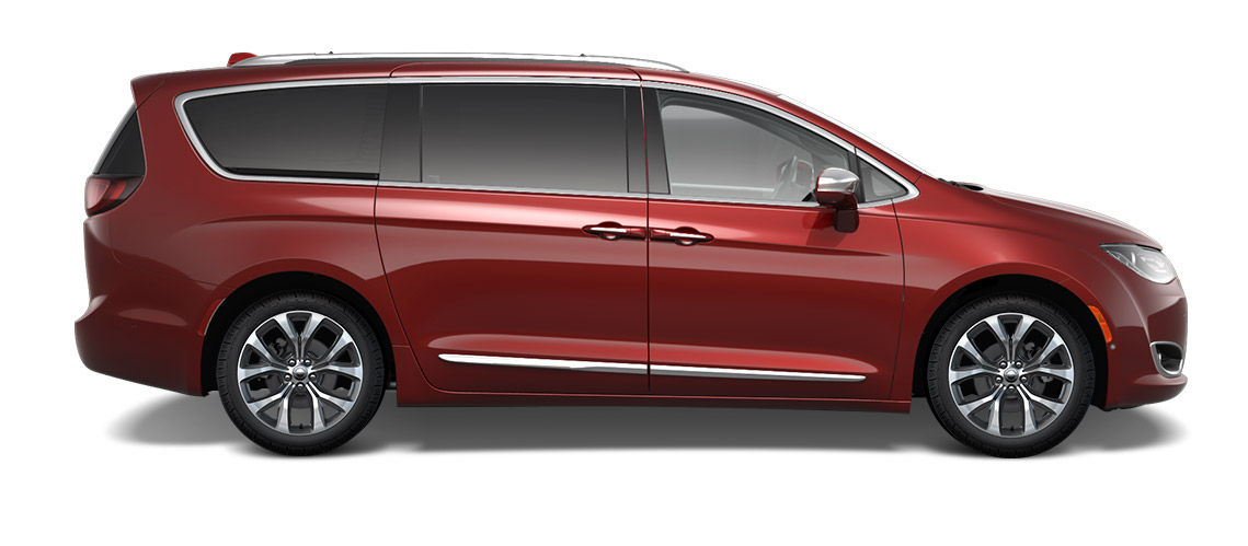 20 Inch Aluminum Wheels Available On Chrysler Pacifica Limited